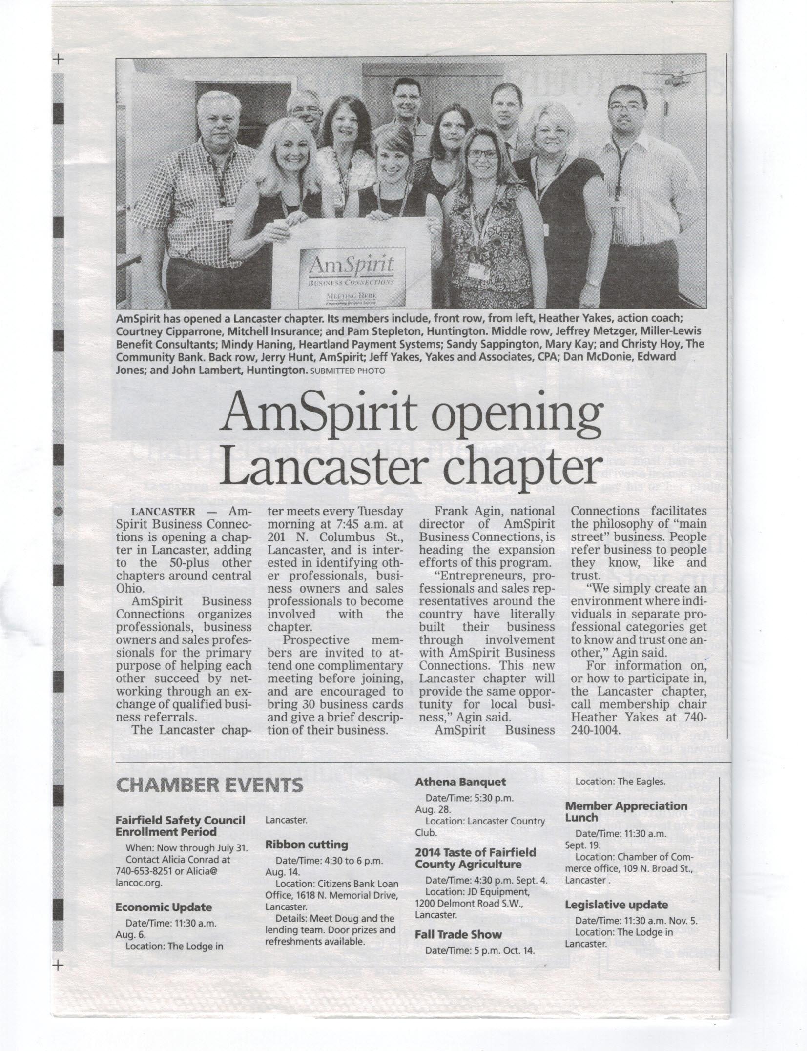 Lancaster Chapter